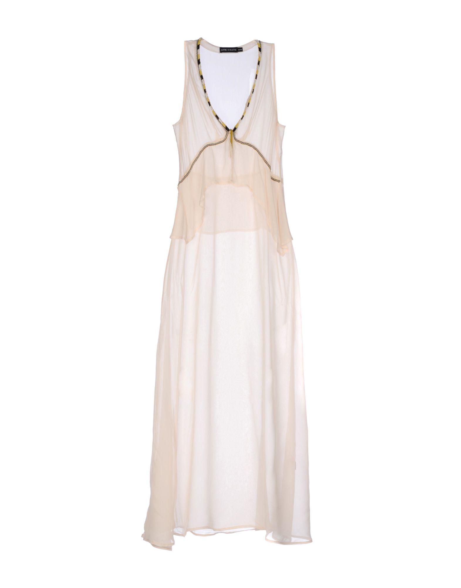 ANTIK BATIK Длинное платье antik batik короткое платье