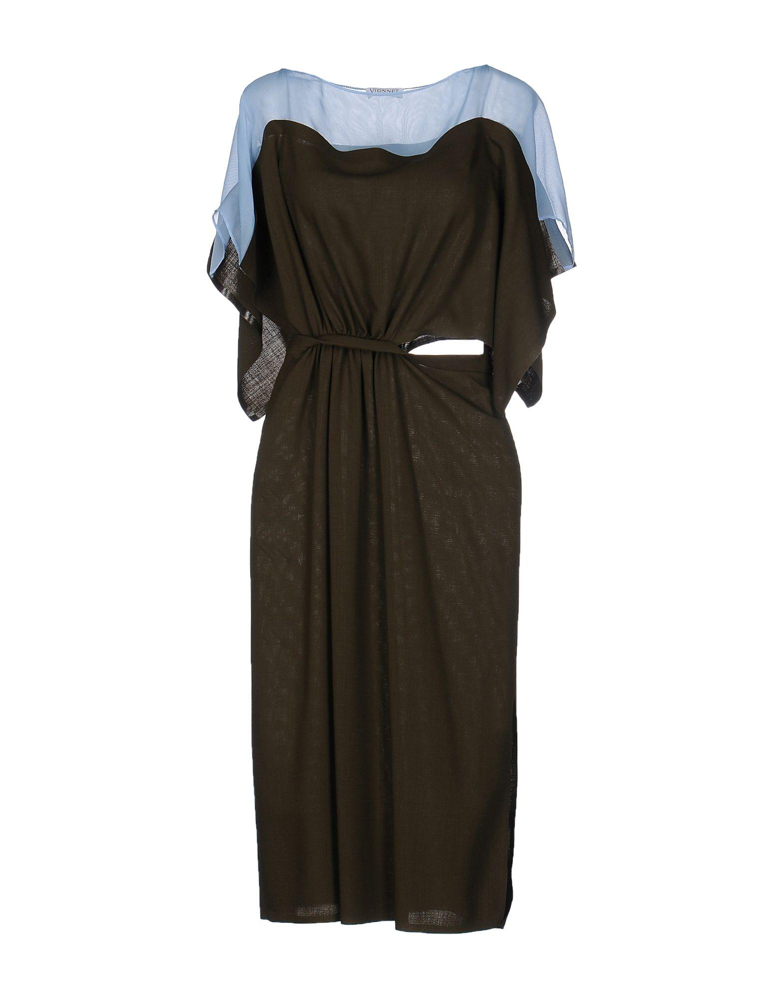 VIONNET Платье длиной 3/4 lisa corti платье длиной 3 4