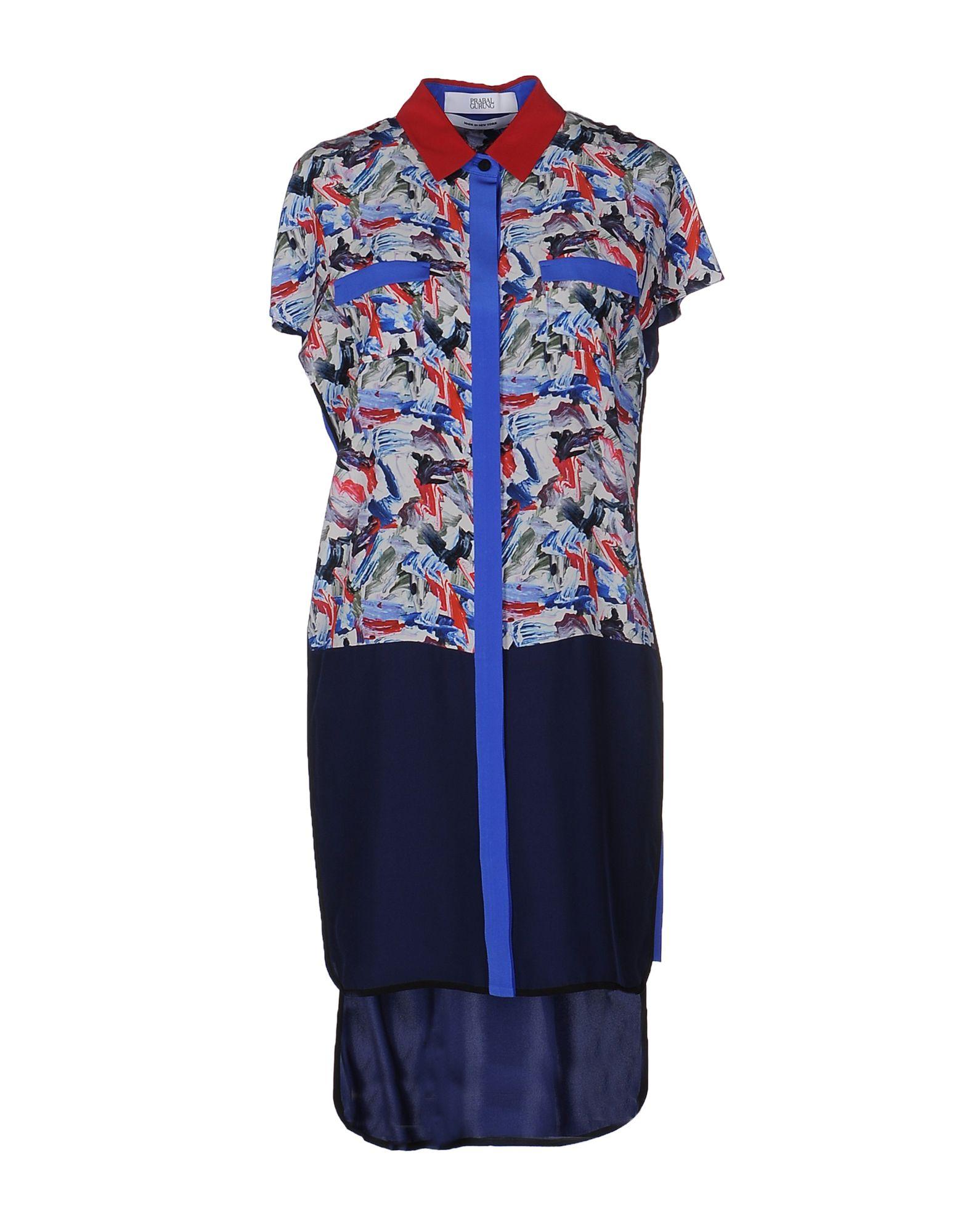 где купить PRABAL GURUNG Короткое платье по лучшей цене