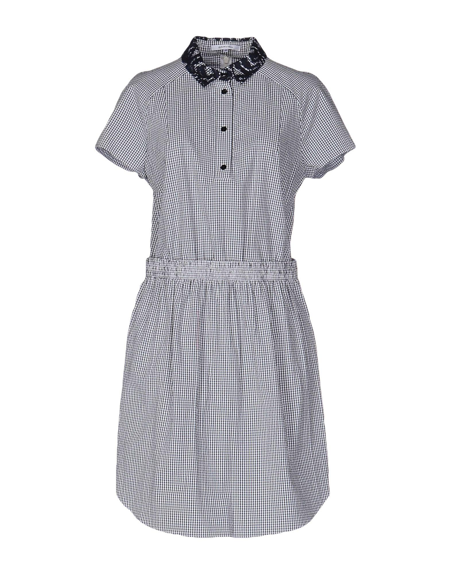где купить CARVEN Короткое платье по лучшей цене