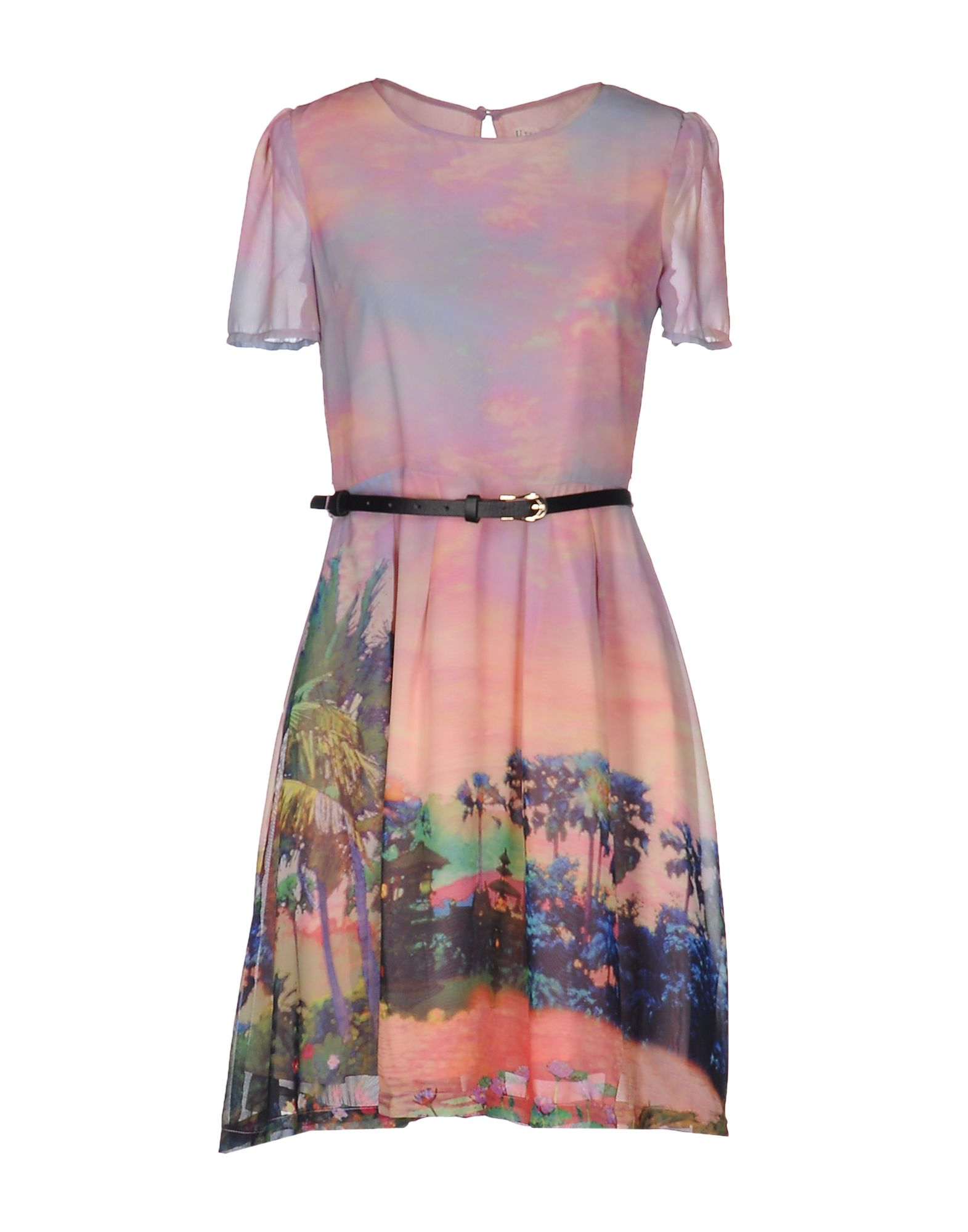 UTTAM BOUTIQUE Короткое платье платье uttam boutique платья и сарафаны в полоску