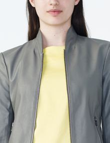 ARMANI EXCHANGE SPORTY FAUX-LEATHER JACKET PU D e