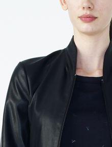 ARMANI EXCHANGE SPORTY FAUX-LEATHER JACKET Moto Jacket D e