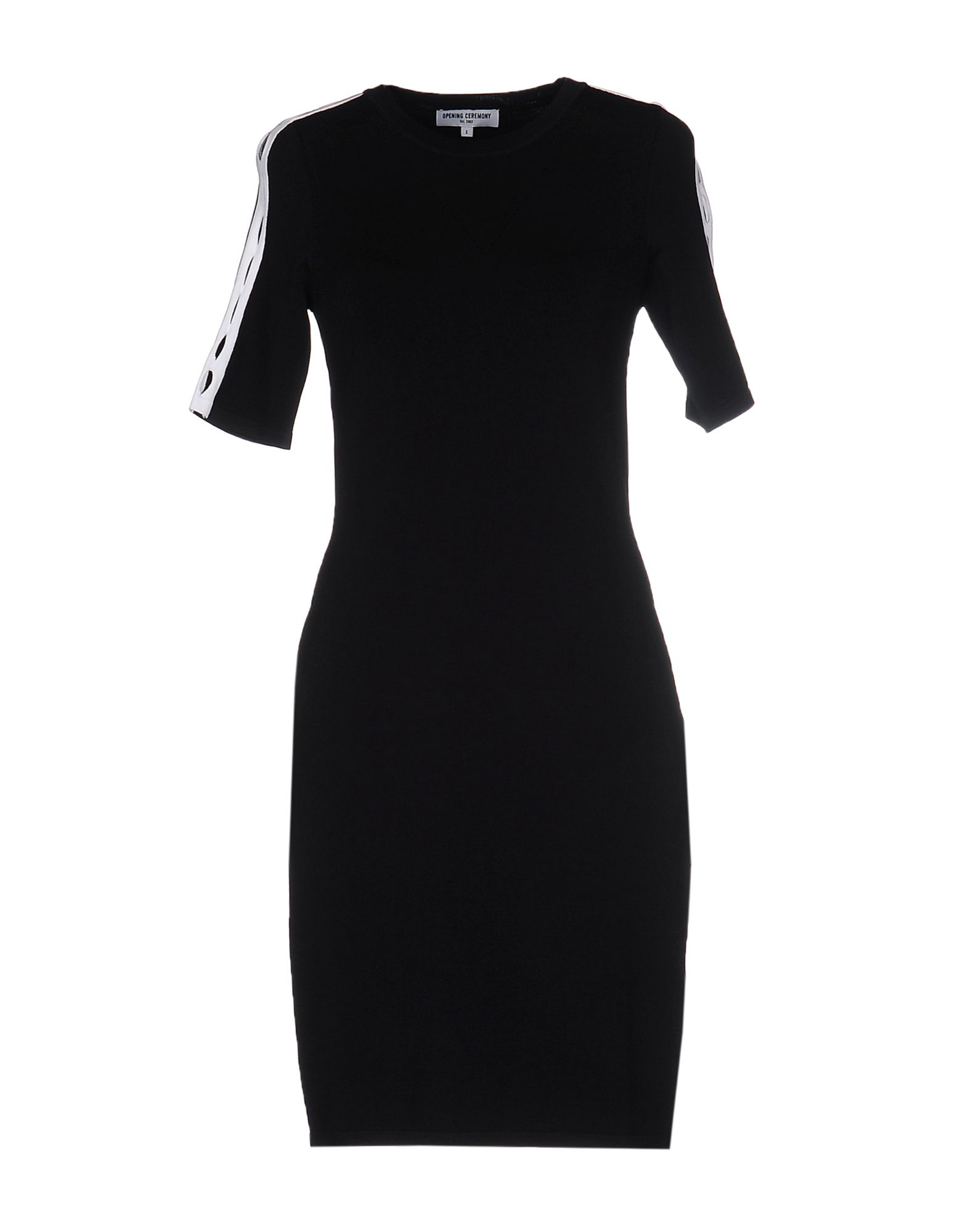 OPENING CEREMONY Damen Kurzes Kleid Farbe Schwarz Größe 5