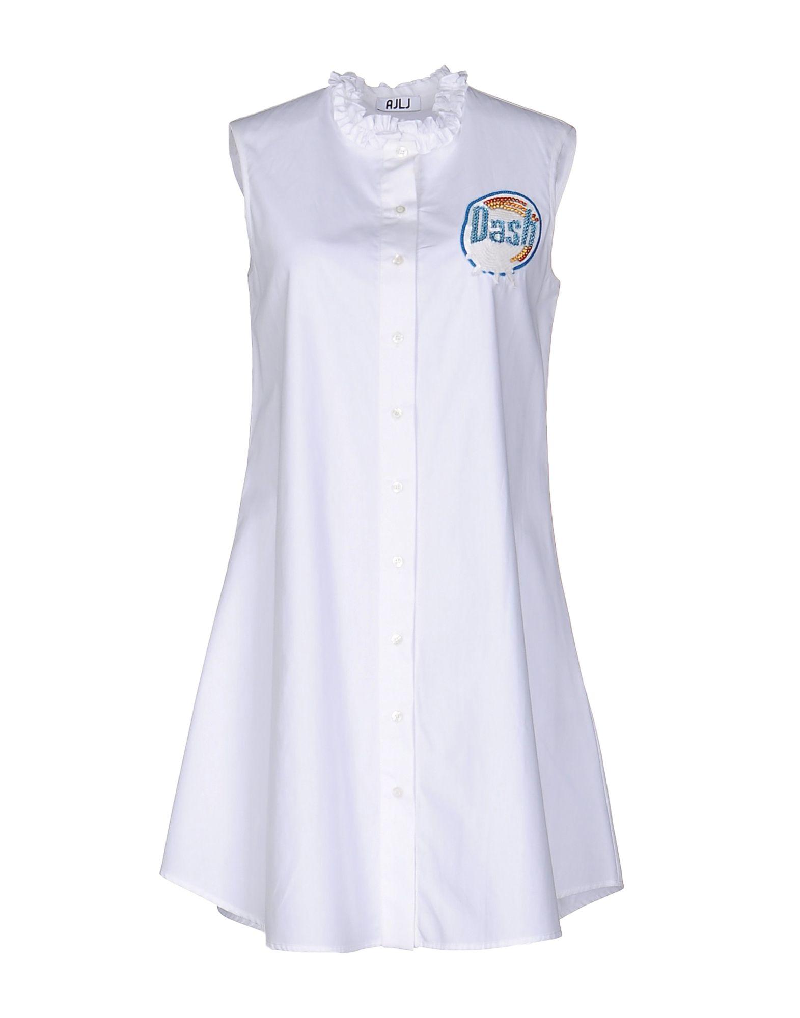 au jour le рубашка с длинными рукавами AU JOUR LE JOUR Короткое платье