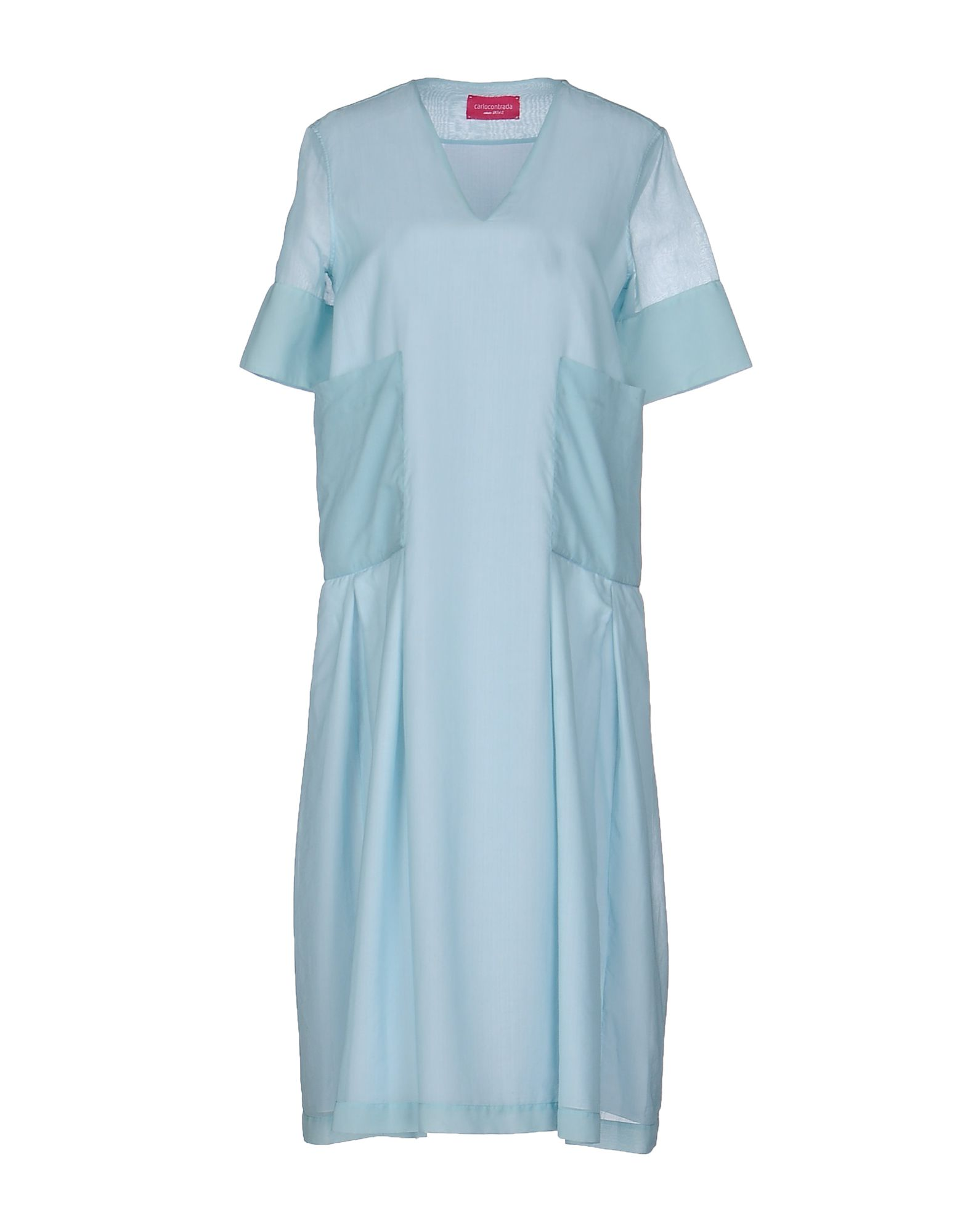CARLO CONTRADA Платье до колена carlo contrada юбка длиной 3 4
