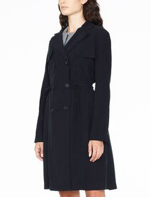 ARMANI EXCHANGE LIGHTWEIGHT LONG TRENCH Coat Woman d
