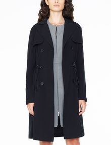 ARMANI EXCHANGE LIGHTWEIGHT LONG TRENCH Coat D f