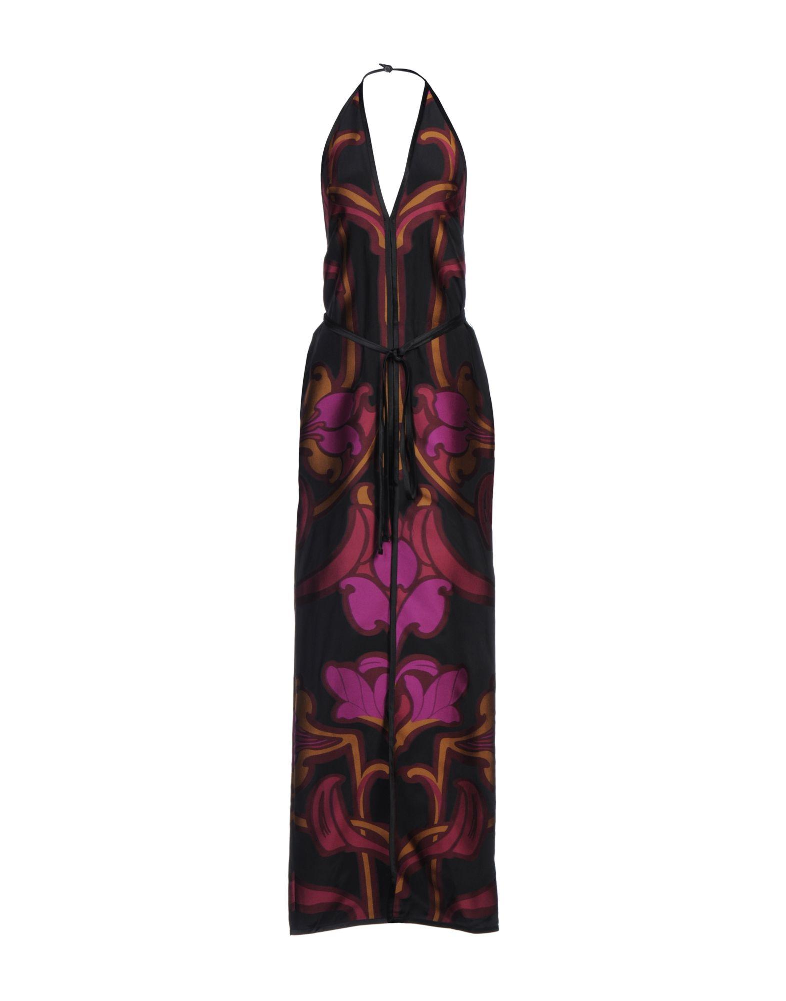 GUCCI Damen Langes Kleid Farbe Malve Größe 3