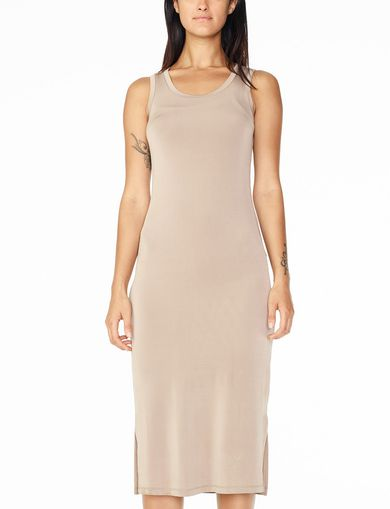ARMANI EXCHANGE BODYCON MIDI DRESS Woman front