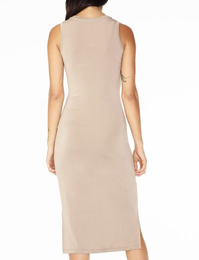 ARMANI EXCHANGE BODYCON MIDI DRESS Woman retro