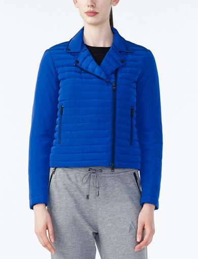 ARMANI EXCHANGE CHANNEL-QUILTED MOTO Woman front