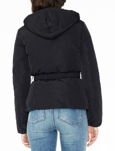 ARMANI EXCHANGE BELTED PUFFER Woman retro