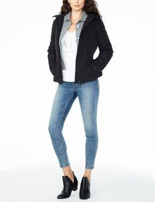 ARMANI EXCHANGE BELTED PUFFER PUFFER JACKET D a