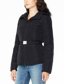 ARMANI EXCHANGE BELTED PUFFER PUFFER JACKET D d