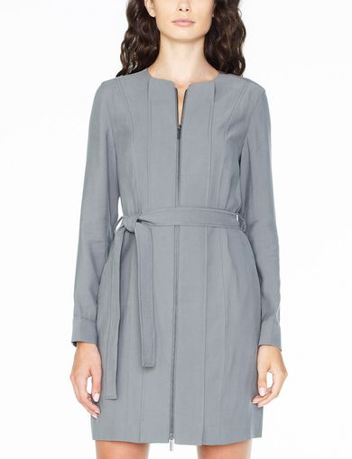 ARMANI EXCHANGE Zip-Up Utility Dress Woman front