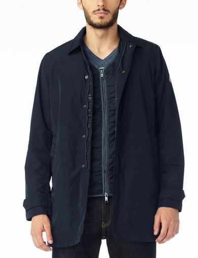 ARMANI EXCHANGE NYLON JACKET WITH ZIP-OUT VEST Man front