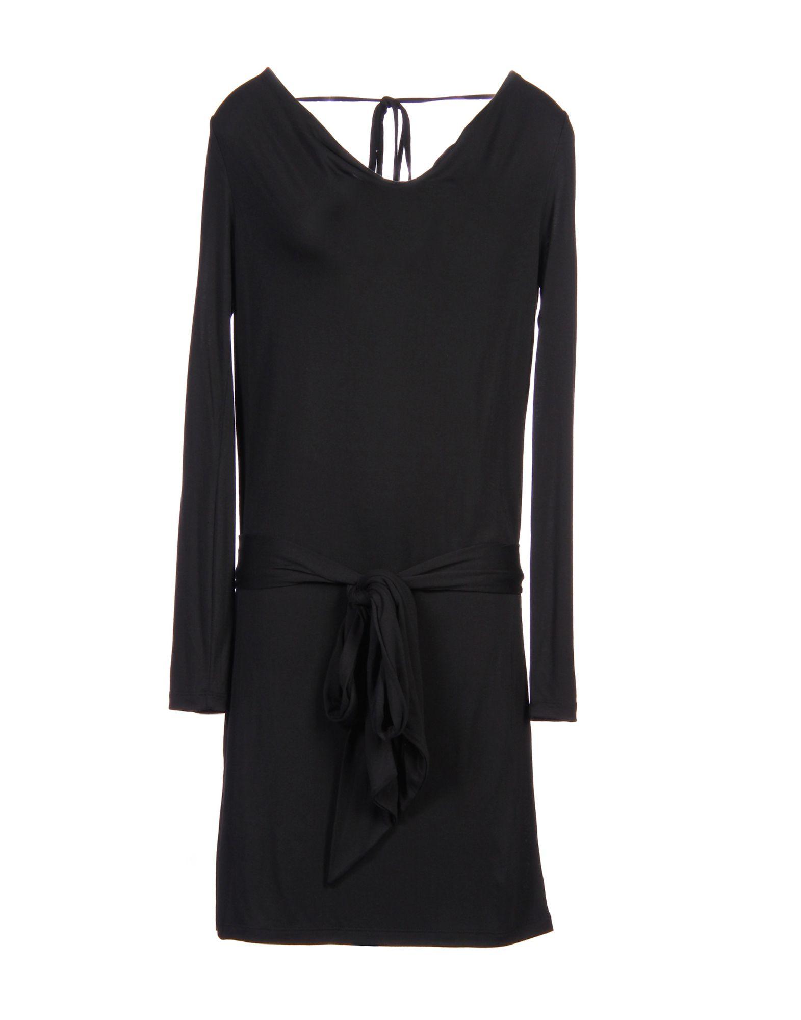 HAUTE HIPPIE Damen Kurzes Kleid Farbe Schwarz Größe 6