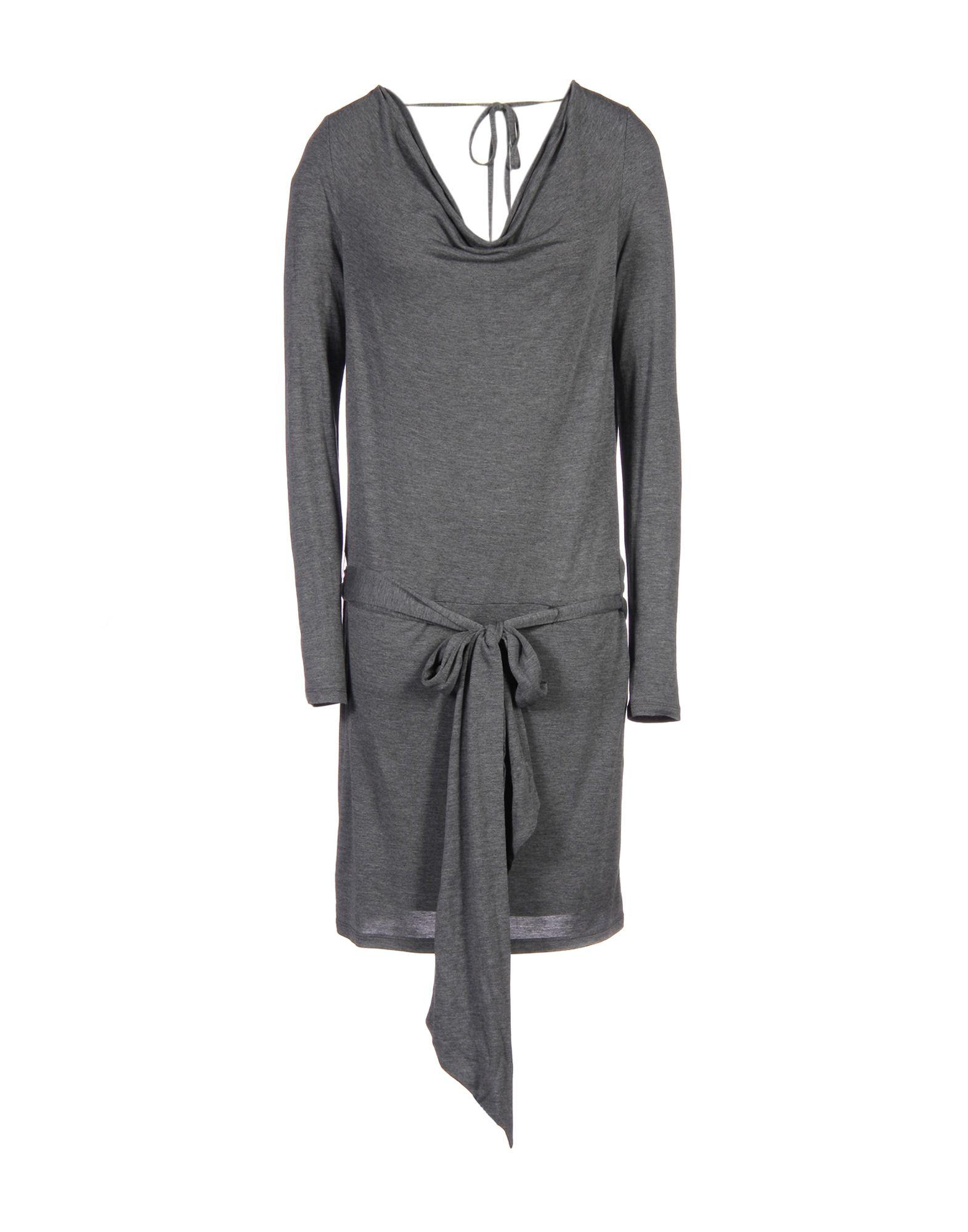 HAUTE HIPPIE Damen Kurzes Kleid Farbe Blei Größe 5