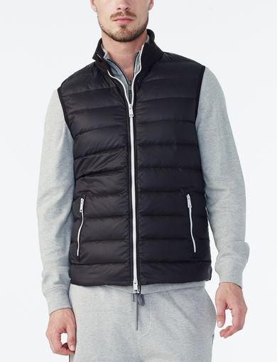 ARMANI EXCHANGE QUILTED DOWN VEST Man front