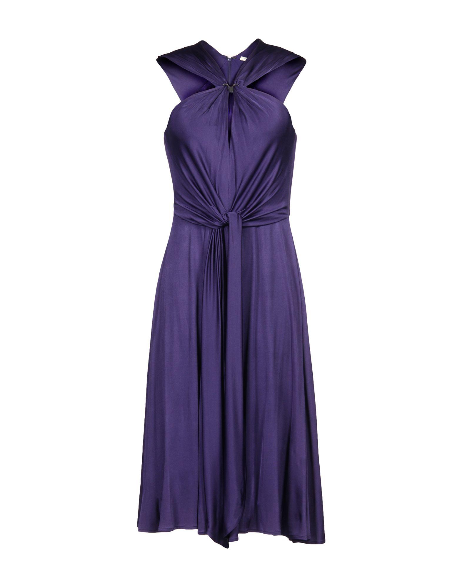 HALSTON HERITAGE Платье до колена halston heritage серое платье из вискозы