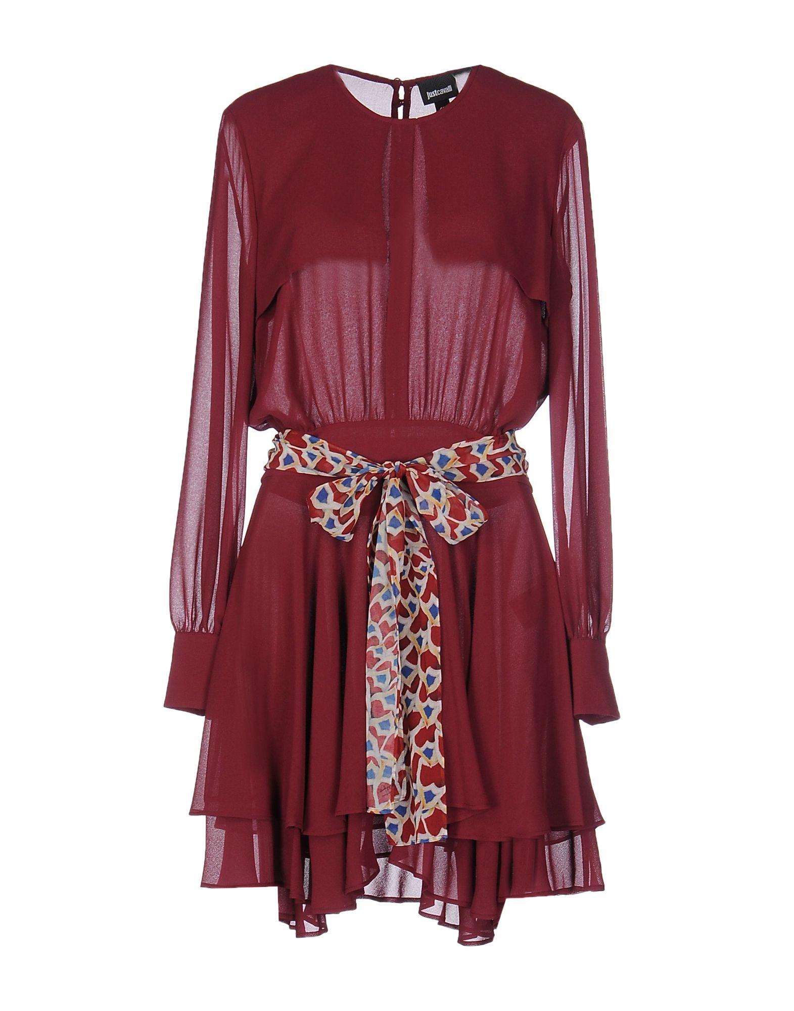 Короткое платье  Фиолетовый цвета