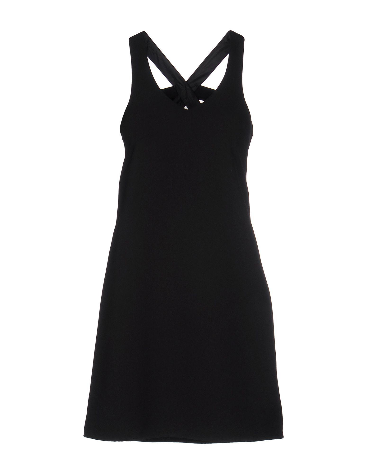 《送料無料》NO SECRETS レディース ミニワンピース&ドレス ブラック 46 ポリエステル 100%
