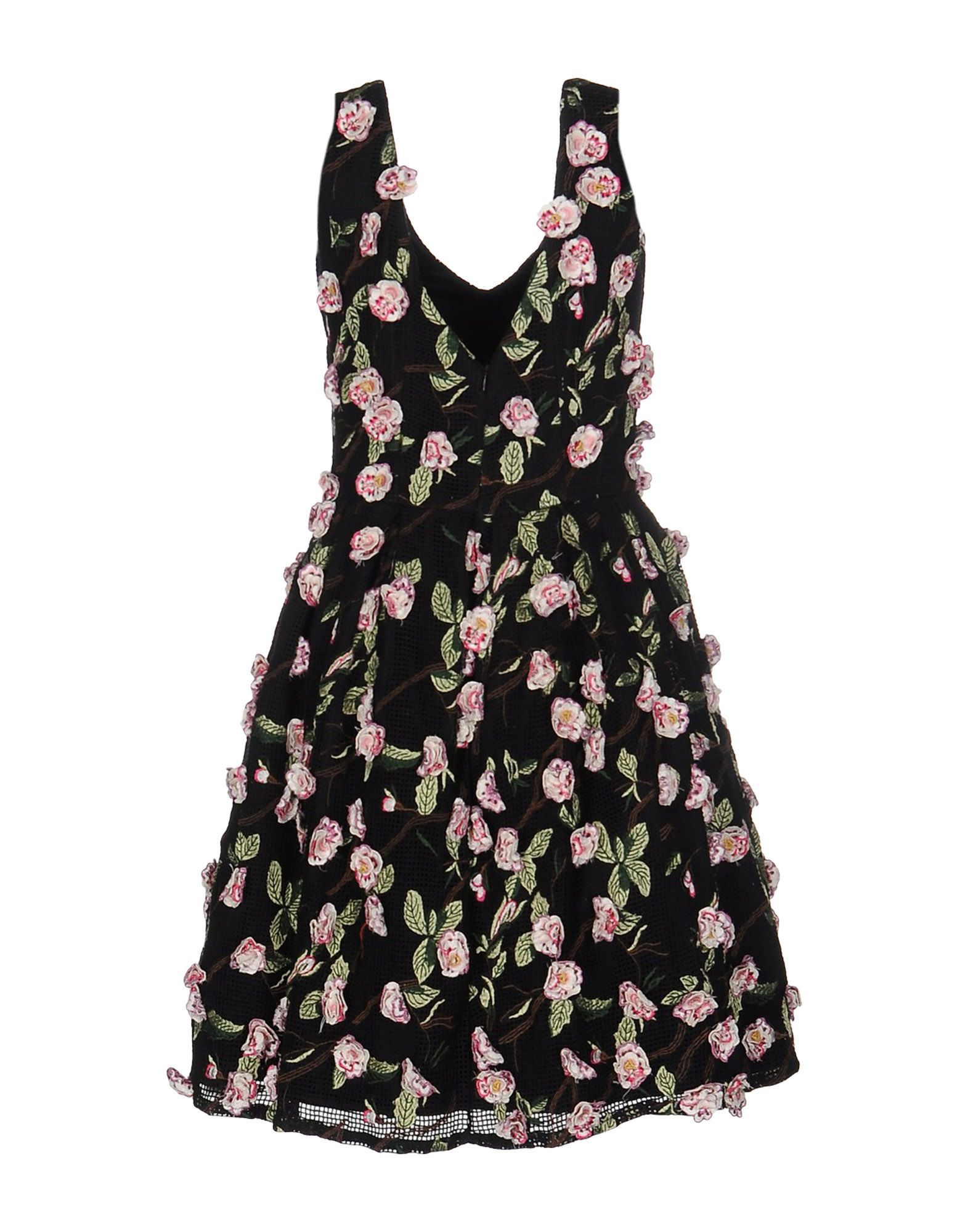цена MATILDE CANO Короткое платье онлайн в 2017 году