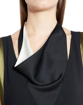 LANVIN SATIN CRÊPE DRESS Dress D r