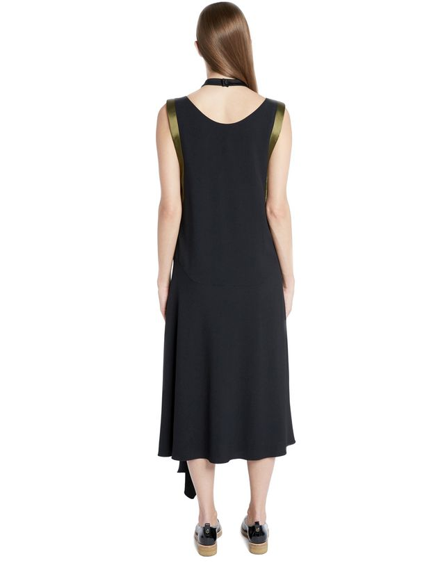 LANVIN SATIN CRÊPE DRESS Dress D d
