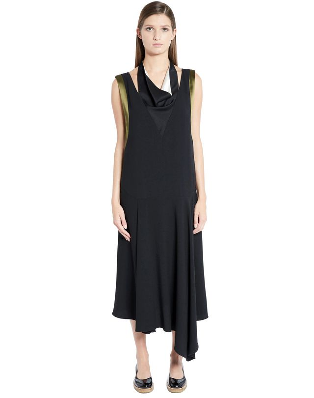 LANVIN SATIN CRÊPE DRESS Dress D f