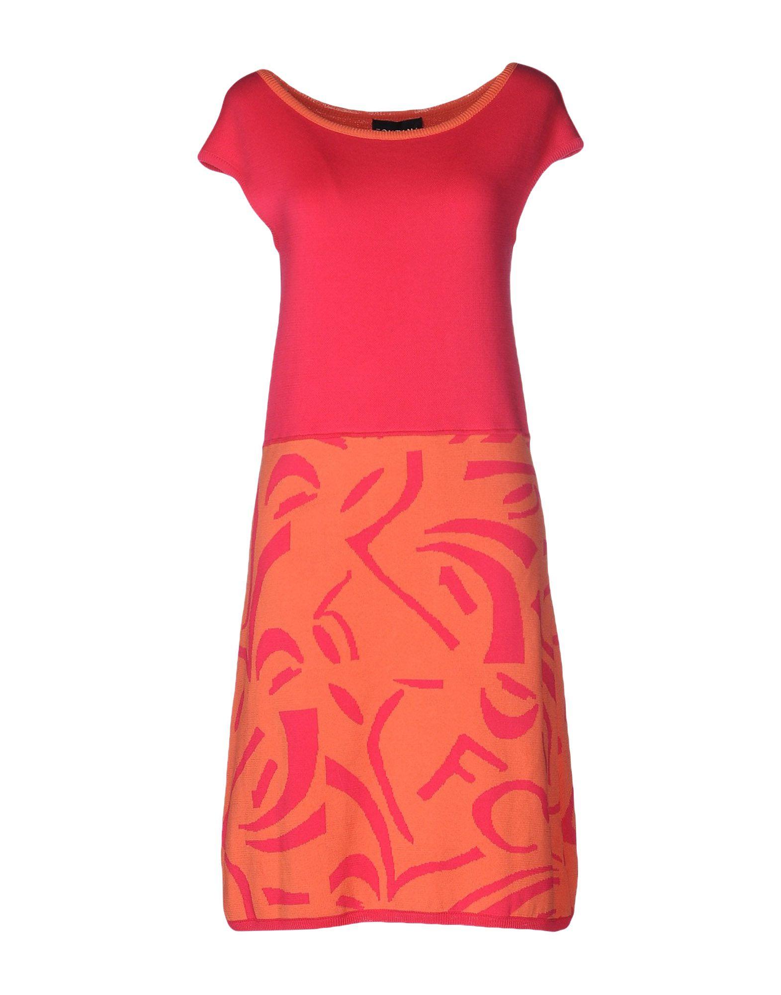 FONTANA COUTURE Платье до колена цена 2017