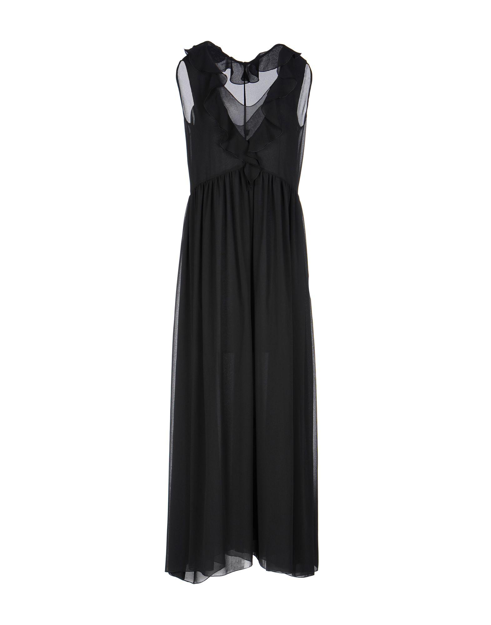 цена FABRIZIO LENZI Длинное платье онлайн в 2017 году