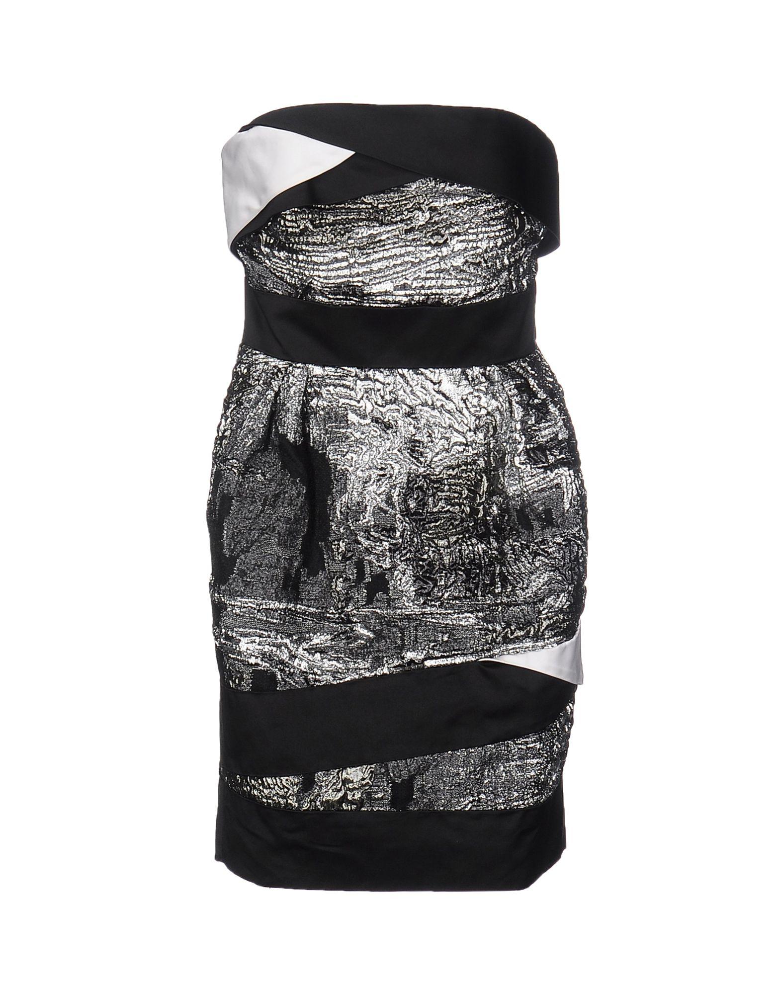 цена PRABAL GURUNG Короткое платье онлайн в 2017 году