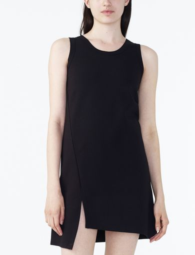 ARMANI EXCHANGE ASYMMETRIC HEM TANK DRESS Woman front