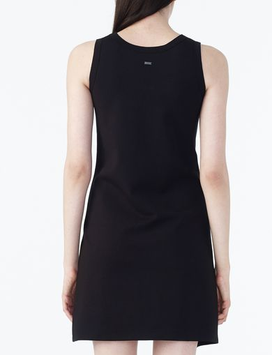 ARMANI EXCHANGE ASYMMETRIC HEM TANK DRESS Woman retro