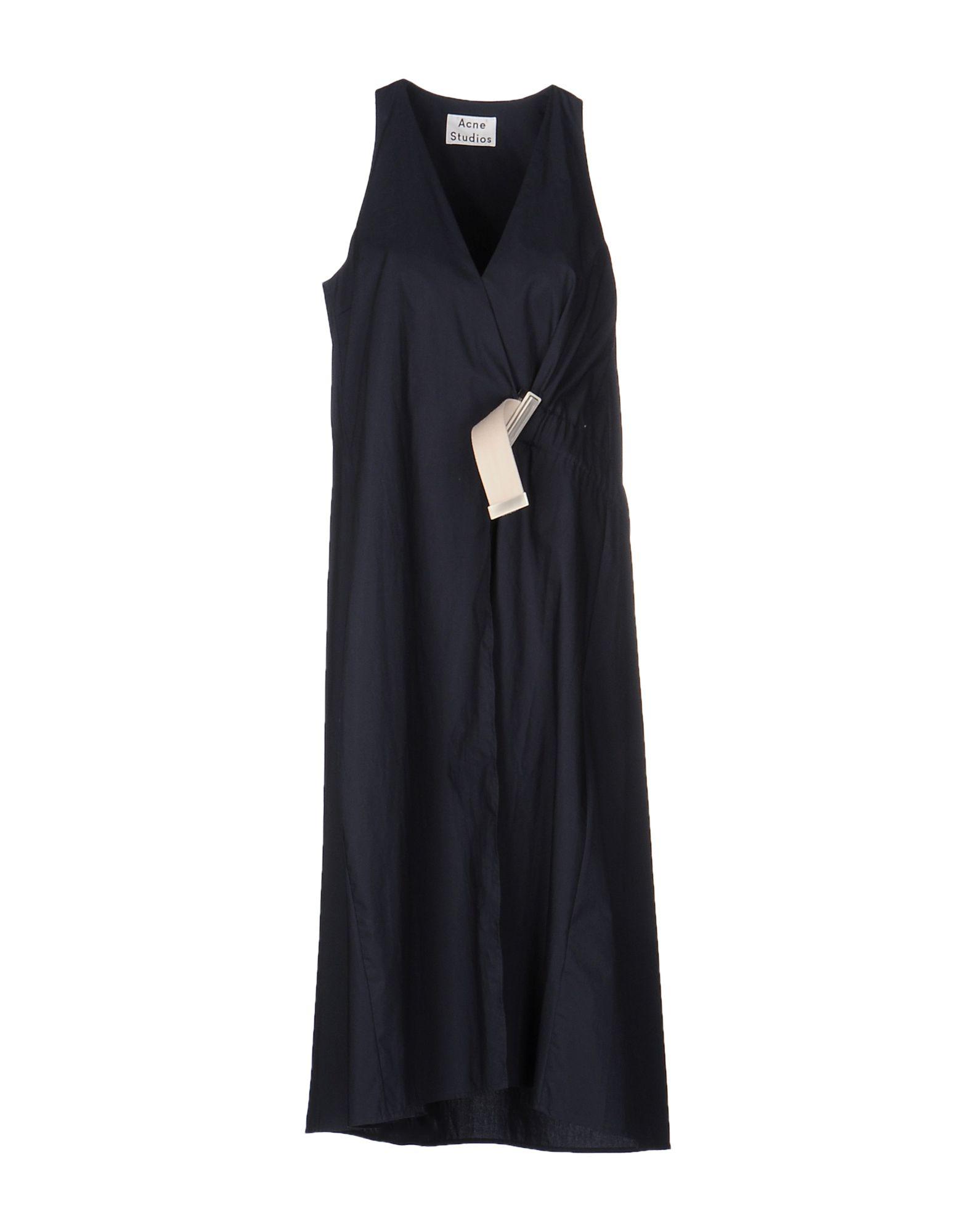 ACNE STUDIOS Платье длиной 3/4 lisa corti платье длиной 3 4
