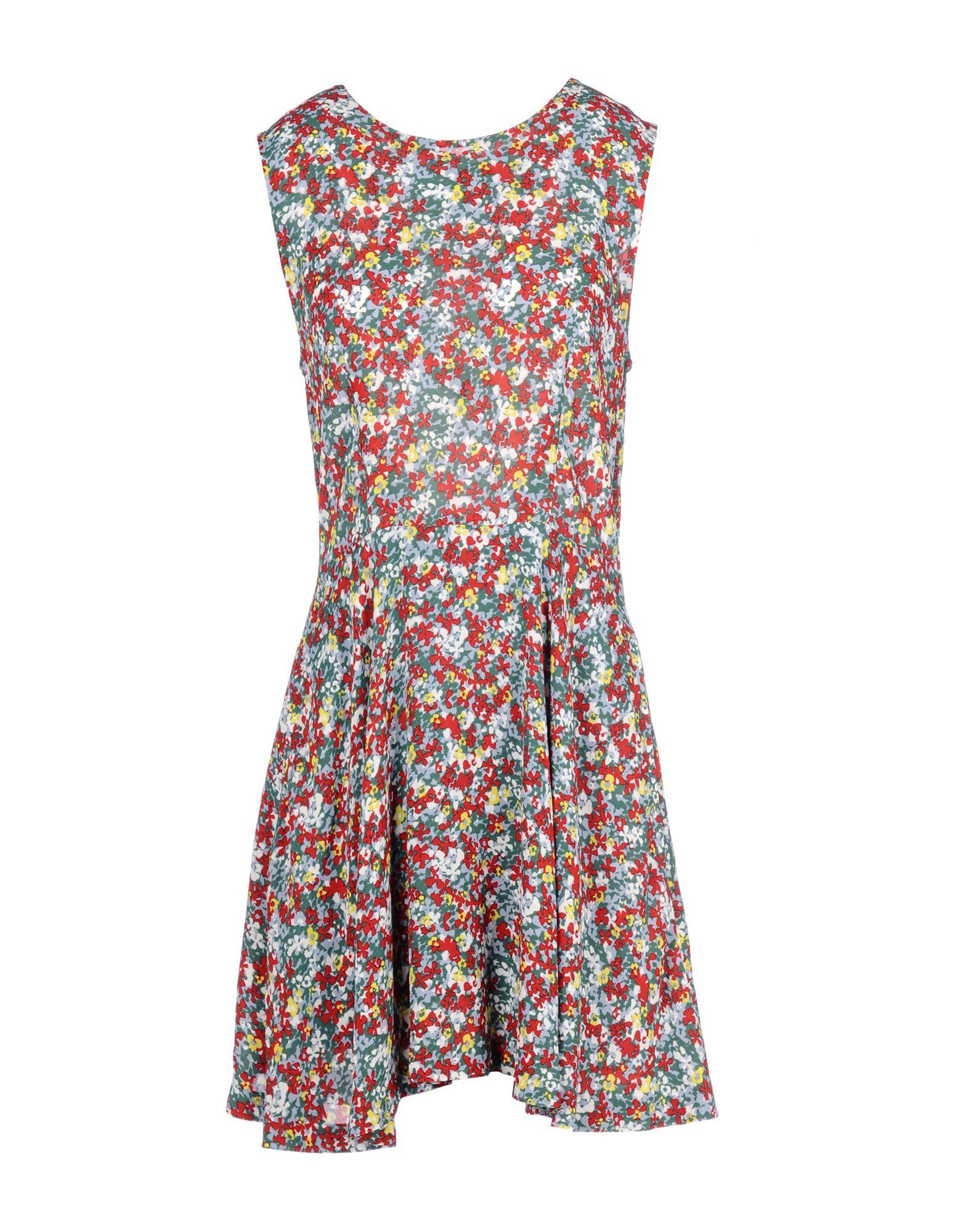 LUCKY CHOUETTE Короткое платье lucky chouette платье до колена