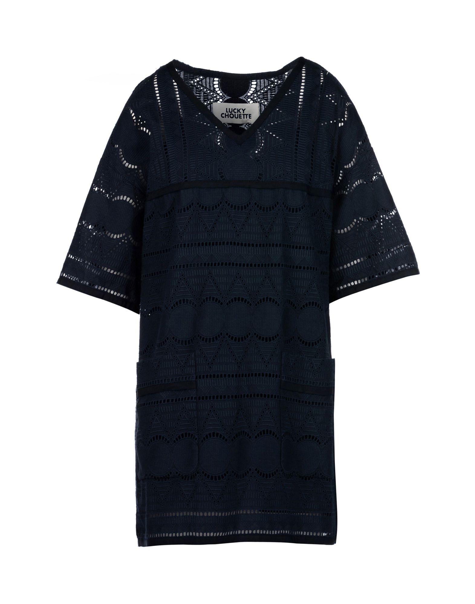 LUCKY CHOUETTE Короткое платье платье lucky move lucky move mp002xw0e1zw