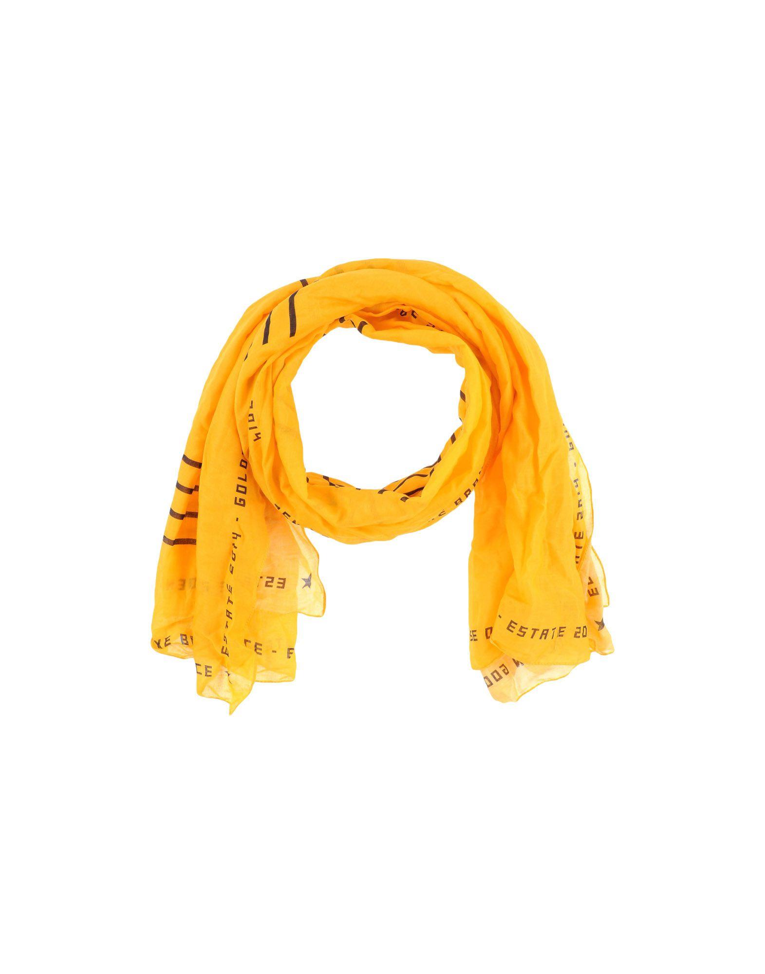 GOLDEN GOOSE DELUXE BRAND Палантин golden goose deluxe brand шерстяной джемпер с логотипами