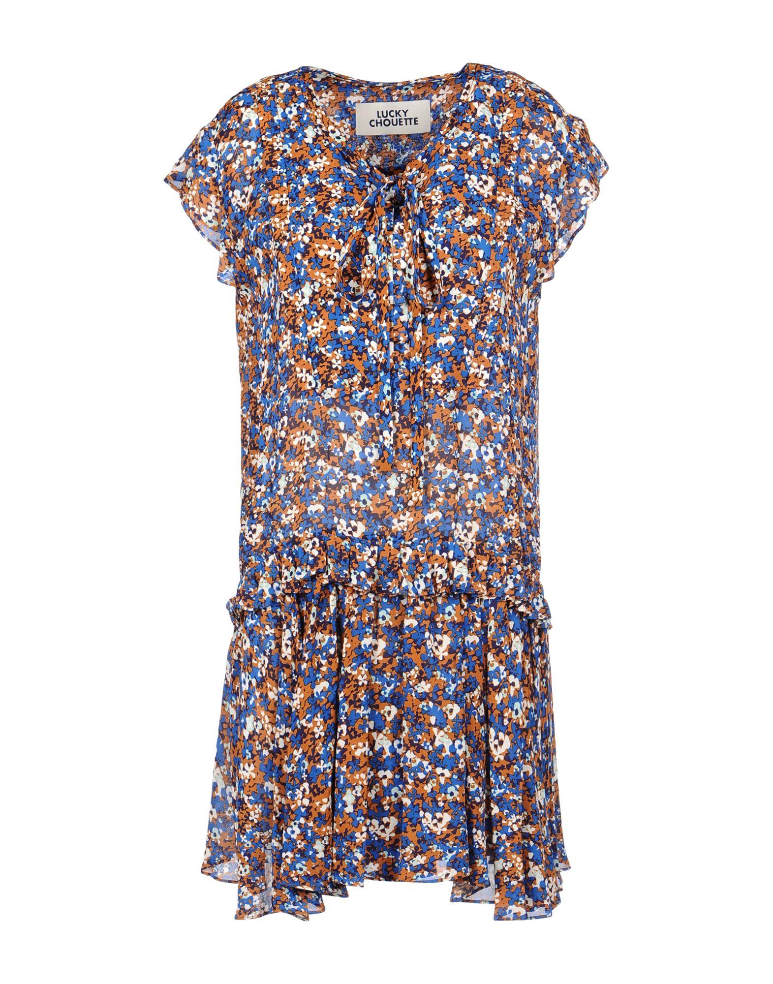 LUCKY CHOUETTE Платье до колена платье lucky move lucky move mp002xw0e1zw