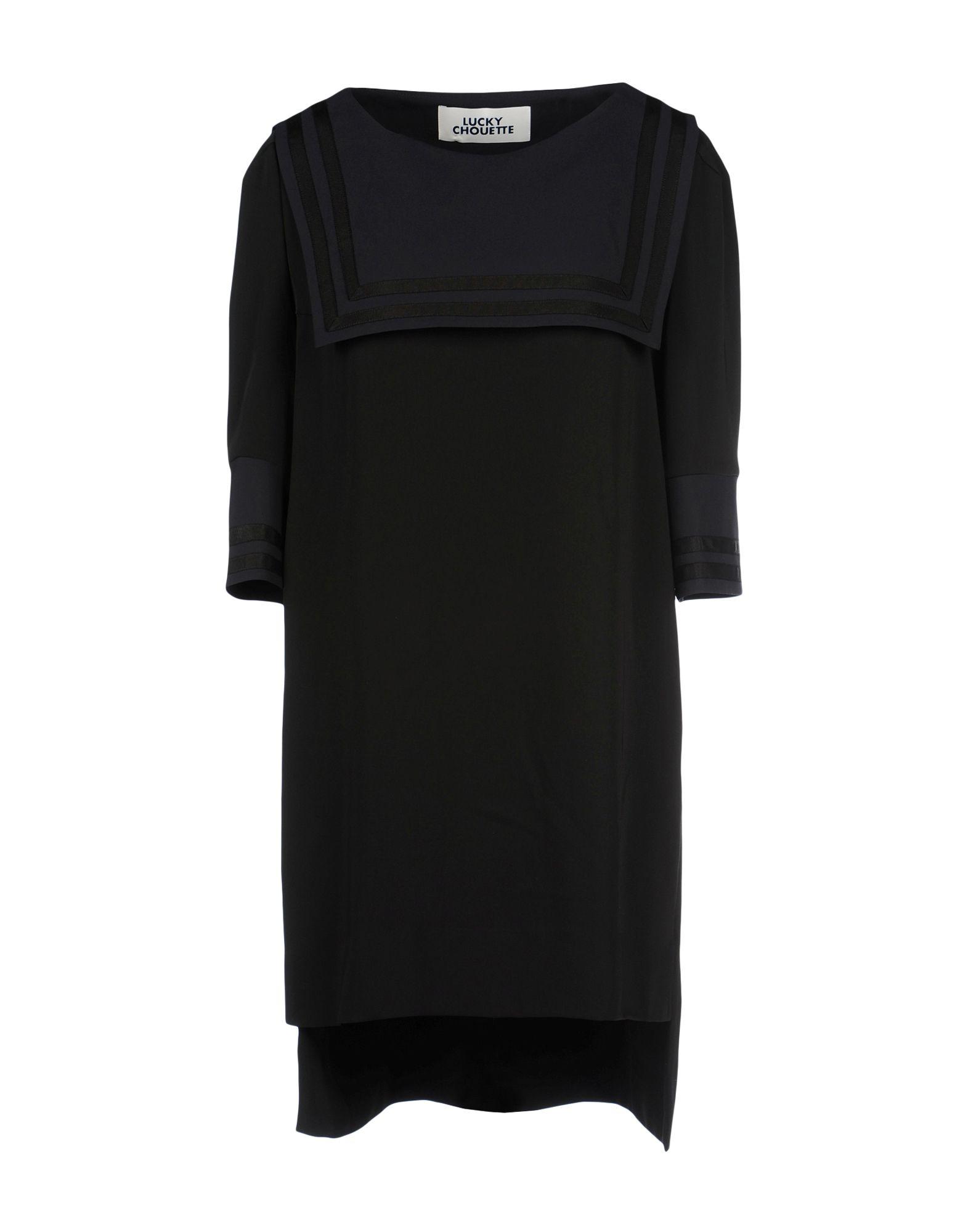 LUCKY CHOUETTE Короткое платье