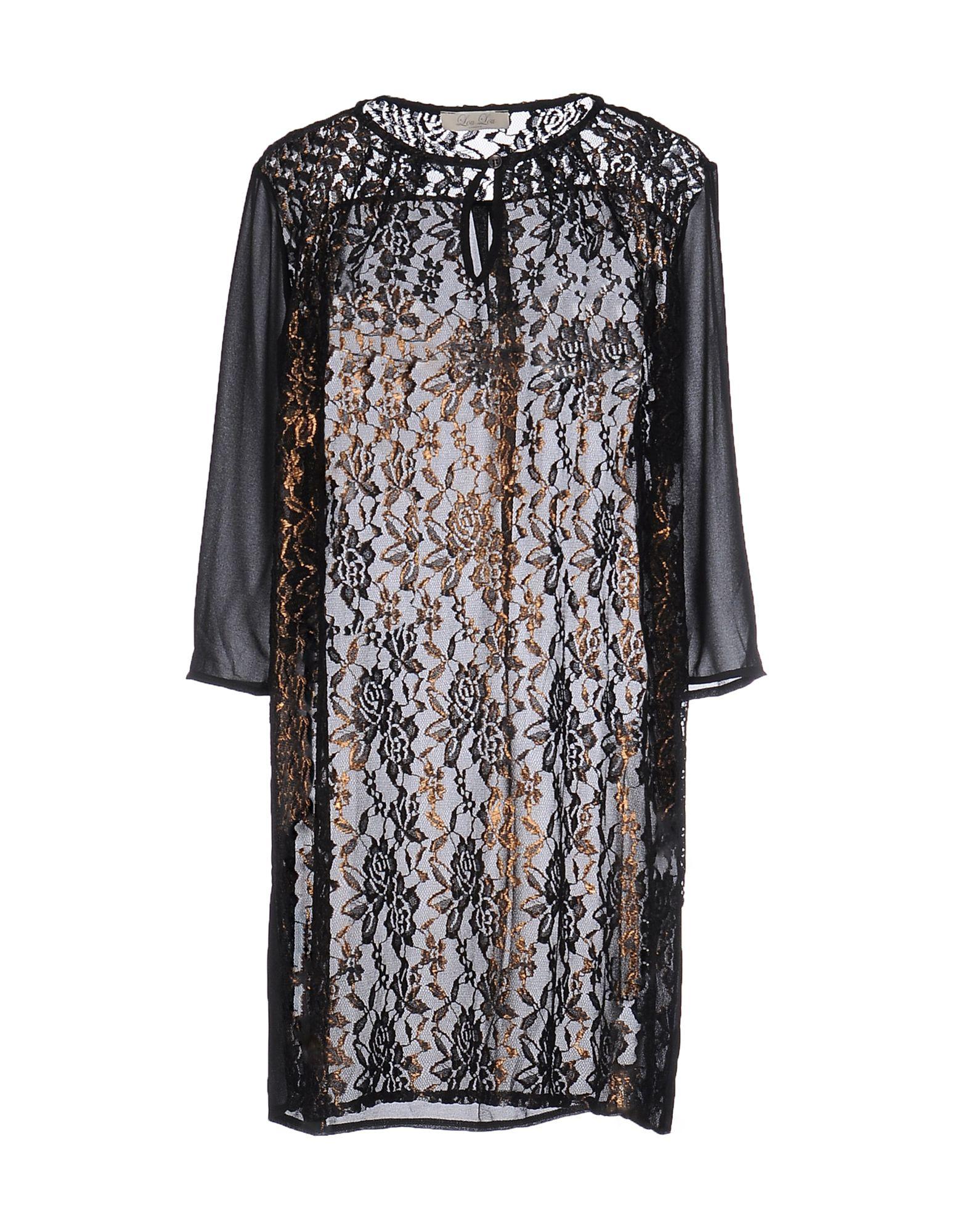 LOU LOU LONDON Короткое платье lou lou платье лу лу 250708 1016 черный s