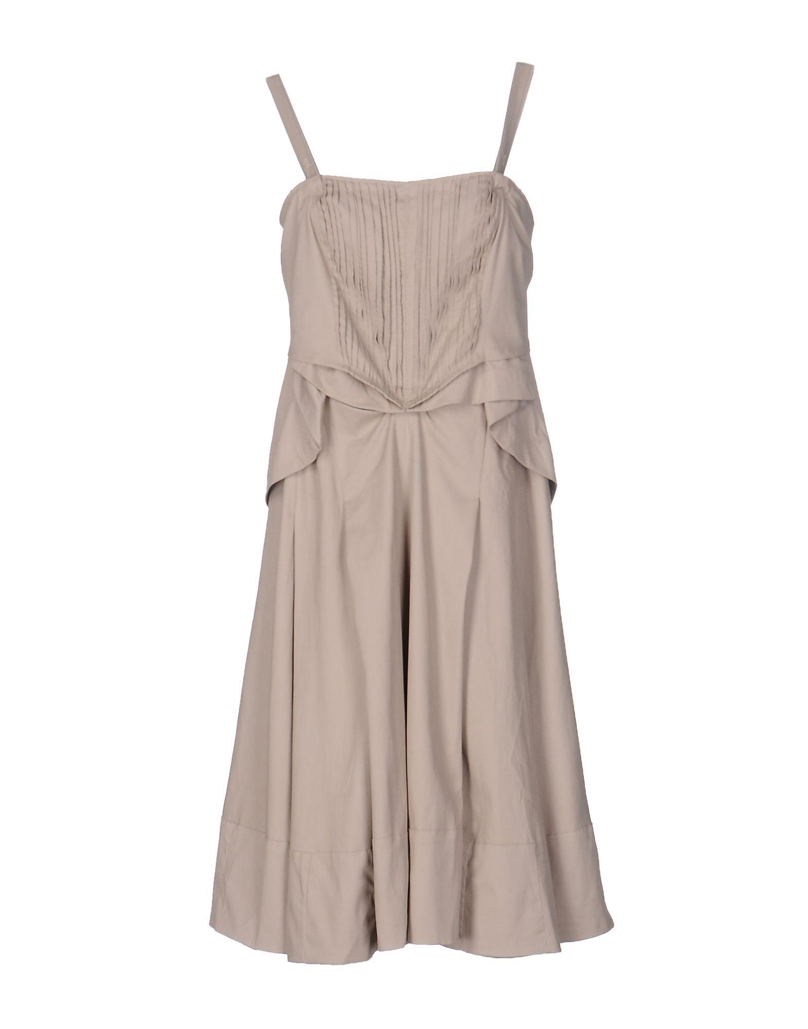 LE JEAN DE MARITHÉ + FRANÇOIS GIRBAUD Платье до колена le jean de marithé françois girbaud джинсовая юбка