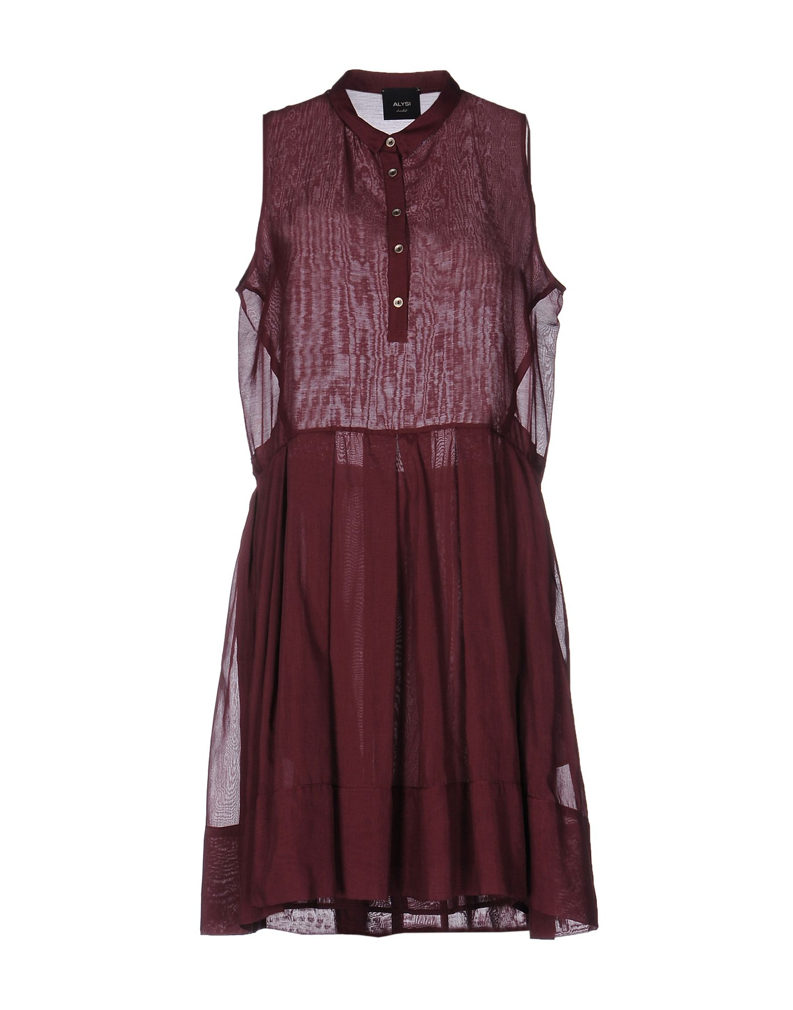 ALYSI Короткое платье lisa corti короткое платье