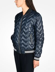 ARMANI EXCHANGE CHEVRON QUILTED PUFFER JACKET Puffer D d