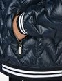 ARMANI EXCHANGE CHEVRON QUILTED PUFFER JACKET Puffer D e