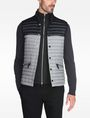 ARMANI EXCHANGE COLORBLOCK DOWN PUFFER VEST PUFFER JACKET Man f