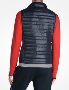 ARMANI EXCHANGE FUNNELNECK CHANNEL-QUILTED PUFFER VEST PUFFER JACKET [*** pickupInStoreShippingNotGuaranteed_info ***] r