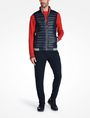 ARMANI EXCHANGE FUNNELNECK CHANNEL-QUILTED PUFFER VEST PUFFER JACKET [*** pickupInStoreShippingNotGuaranteed_info ***] a